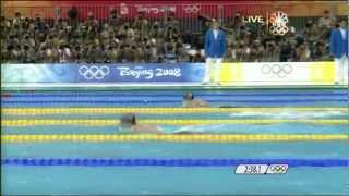Michael Phelps' 1st Gold - 2008 Beijing Olympics Men's 400m Medley