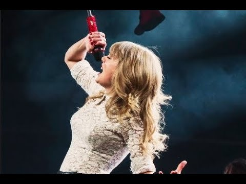 Taylor Swift live - Holy Ground # RED Tour (Fan made)