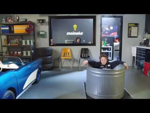 Car AC Repair Commercial 2014 │ Kid Mechanics │ Meineke