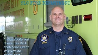 Firefighter video interview: PTSD, depression, suicidal thoughts.