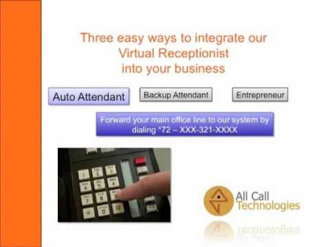 How does a Virtual Receptionist work?