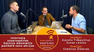 """""""BasketNews.lt podkastas"""": internetą susprogdinęs Dainius Adomaitis pasikėlė savo akcijas"""