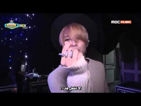 (Arabic Sub) 140712 f(x) Backstage @ Show Champion
