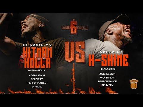 HITMAN HOLLA VS K-SHINE SMACK/ URL RAP BATTLE