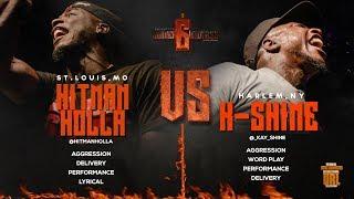 HITMAN HOLLA VS K-SHINE SMACK/ URL RAP BATTLE   URLTV
