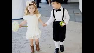 Cute baby boy & girl photo video