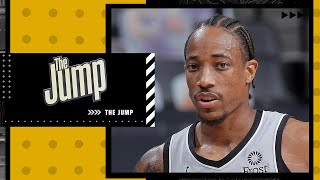 Marc J. Spears gives insight into how the Chicago Bulls signed DeMar DeRozan | The Jump