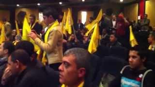 احياءذكري انطلاقة الثورة الفلسطينية ال٤٩ في نقابة الصحفيين المصريين القاهرة