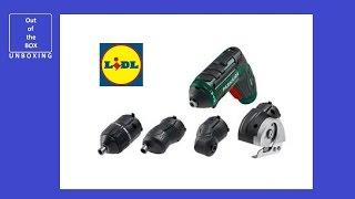 Parkside PABS 20-Li B2 Cordless Drill from LIDL - KBMM Hobbi