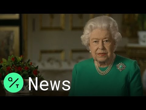Queen Elizabeth Recalls Wartime Sacrifices and Urges U.K. to Show Strength in Televised Address