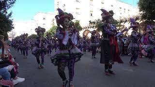 Los Colegas, desfile de Comparsas de 2019