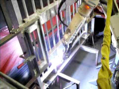 Welding Robot Aluminum Handrail