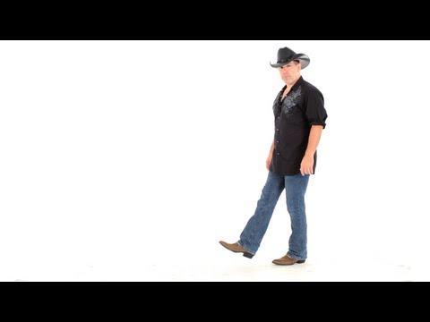 How to Line Dance to Cotton Eye Joe | Line Dancing