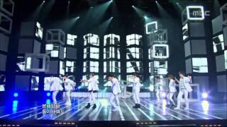 Super Junior - BONAMANA, 슈퍼주니어 - 미인아, Music Core 20100724