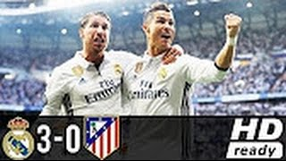 Real Madrid vs Atletico Madrid  3-0  All Goals & Highlights. UEFA Champions League 02-05-2017 HD