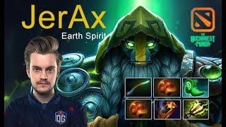 JerAx Earth Spirit [OG vs NiP] The Bucharest Minor 2019 player perspective dota 2