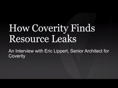 How Coverity Finds Resource Leaks