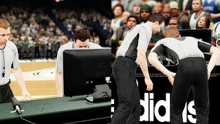 NBA 2k16 My Career Gameplay Ep. 39 - Referees Decide the Game!