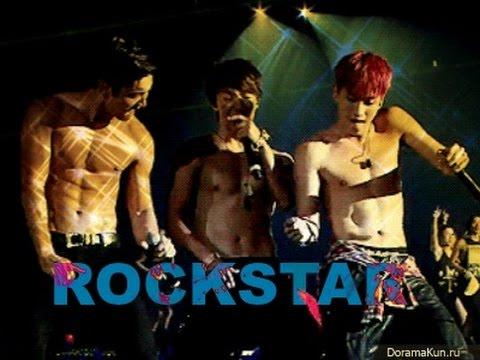 Super Junior I'm rock star.