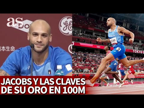JJOO 2020 | MARCELL JACOBS da las claves de su triunfo histórico en los 100m | Diario AS