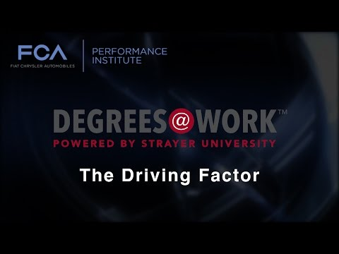 FCA's Al Gardner & Strayer Education CEO Karl McDonnell discuss the national rollout of Degrees@Work and the introduction of Degrees@Work Family. The programs are designed to provide a no-cost, no-debt college degree to participating FCA US dealership employees and their immediate family members.