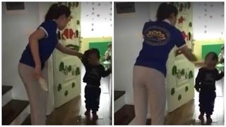 Đuổi việc hai cô giáo dùng dép tát vào đầu và thúc gối vào bụng trẻ mầm non