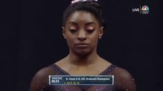 Simone Biles AA Day 2 US Gymnastics Championships 2019