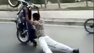 Lucky Bikers & Drivers Compliation [Real Life Stunt Men]