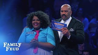 Funny Gals Fast Money!   Celebrity Family Feud