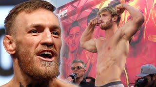 Conor McGregor Reacts To Logan Paul VS Floyd Mayweather & Rejects Jake Paul Offer