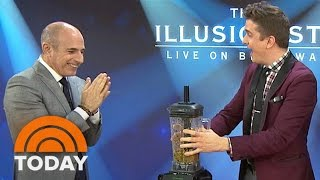'The Illusionists' Give Matt Lauer A Scare With iPhone Magic Trick | TODAY