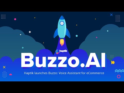 Watch Buzzo in Action -  Haptik's AI-driven Voice Assistant for eCommerce Brands!