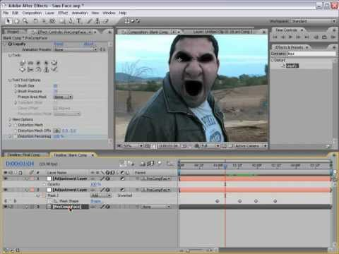 How to make the demon face in adobe After Effects For MAC and PC ...