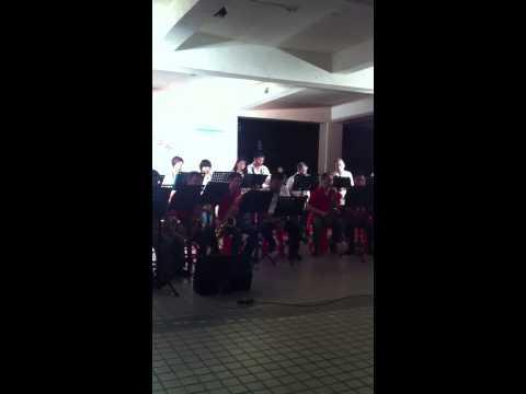 南湖國小親師薩克斯風團在南湖里中秋晚會上獻上大家美妙的樂音,祝福大家中秋快樂^_^