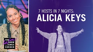 7 Hosts In 7 Days: Alicia Keys