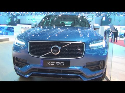 Volvo XC90 D5 (2016) Exterior and Interior in 3D