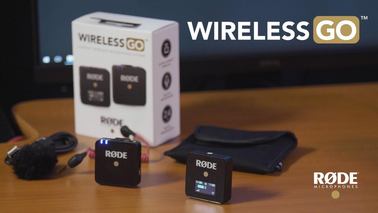 Rode Wireless Go Trådløst mikrofonsystem Trådløs