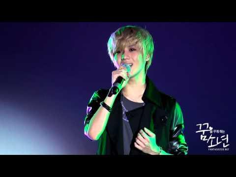 111103 London Korean Film Festival OP - SHINee Taemin Stage (잘할게)