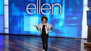 Ellen Can't Interrupt Guest Host Wanda Sykes Now