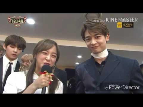 [방탄소년단/트와이스]너무 귀여웠던 대기실인터뷰!(feat.샤샤샼)