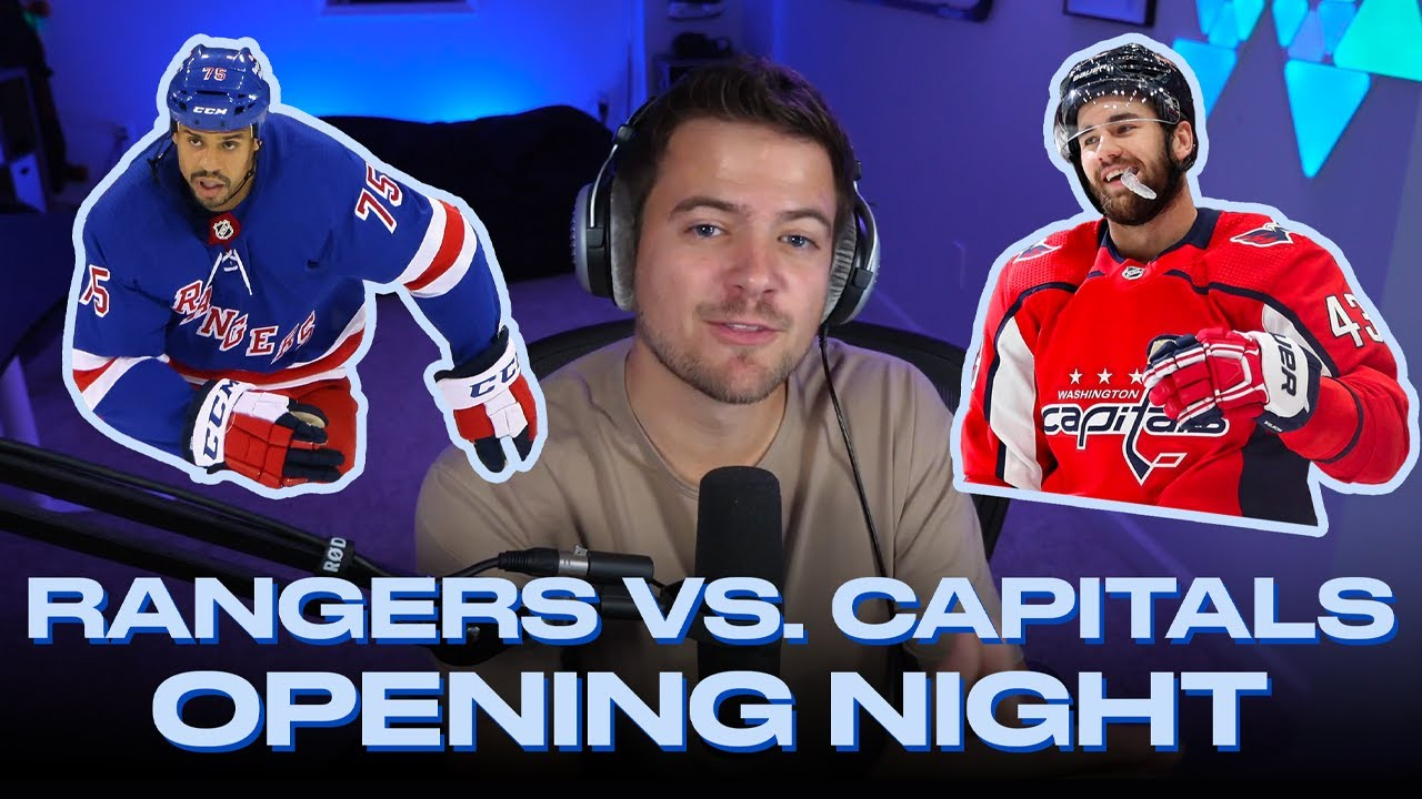 Tom Wilson, Ryan Reaves Beef Makes Rangers, Caps INTENSE | @Nasher on NHL's Big Rivalry