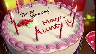 Happy Birthday Maya Aunty ji