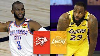 Oklahoma City Thunder vs. Los Angeles Lakers [FULL HIGHLIGHTS]   2019-20 NBA Highlights