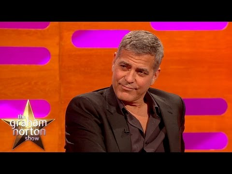George Clooney Apologises For Destroying Batman - The Graham Norton Show, George Clooney Apologises For Destroying Batman - The Graham Norton Show
