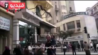 حقيقة لحظة قتل شيماء الصباغ، ما لم تراه في تصوير واقعة قتل شيماء و الضابط الملثم هو من قتلها