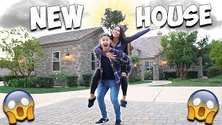 MUKBANG IN OUR NEW HOUSE!