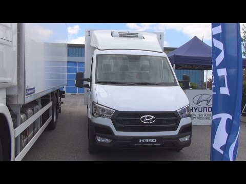 Hyundai H350 170 eVGT Refrigerated Truck (2016) Exterior and Interior in 3D