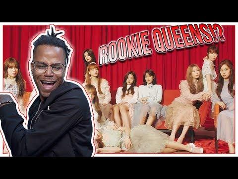 Reacting To IZ*ONE - La Vie en Rose MV (Rookie Queens!?)