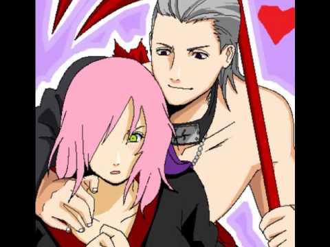 hidan and sakura here without you youtube