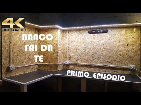 """Banco fai da te """"PRIMO EPISODIO"""" Made in Box in 4K"""
